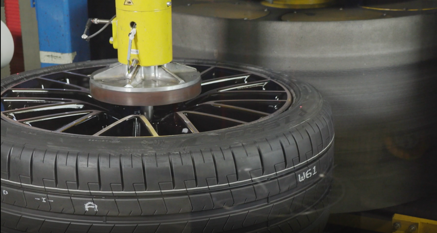 The High-Speed Tire Uniformity Machine