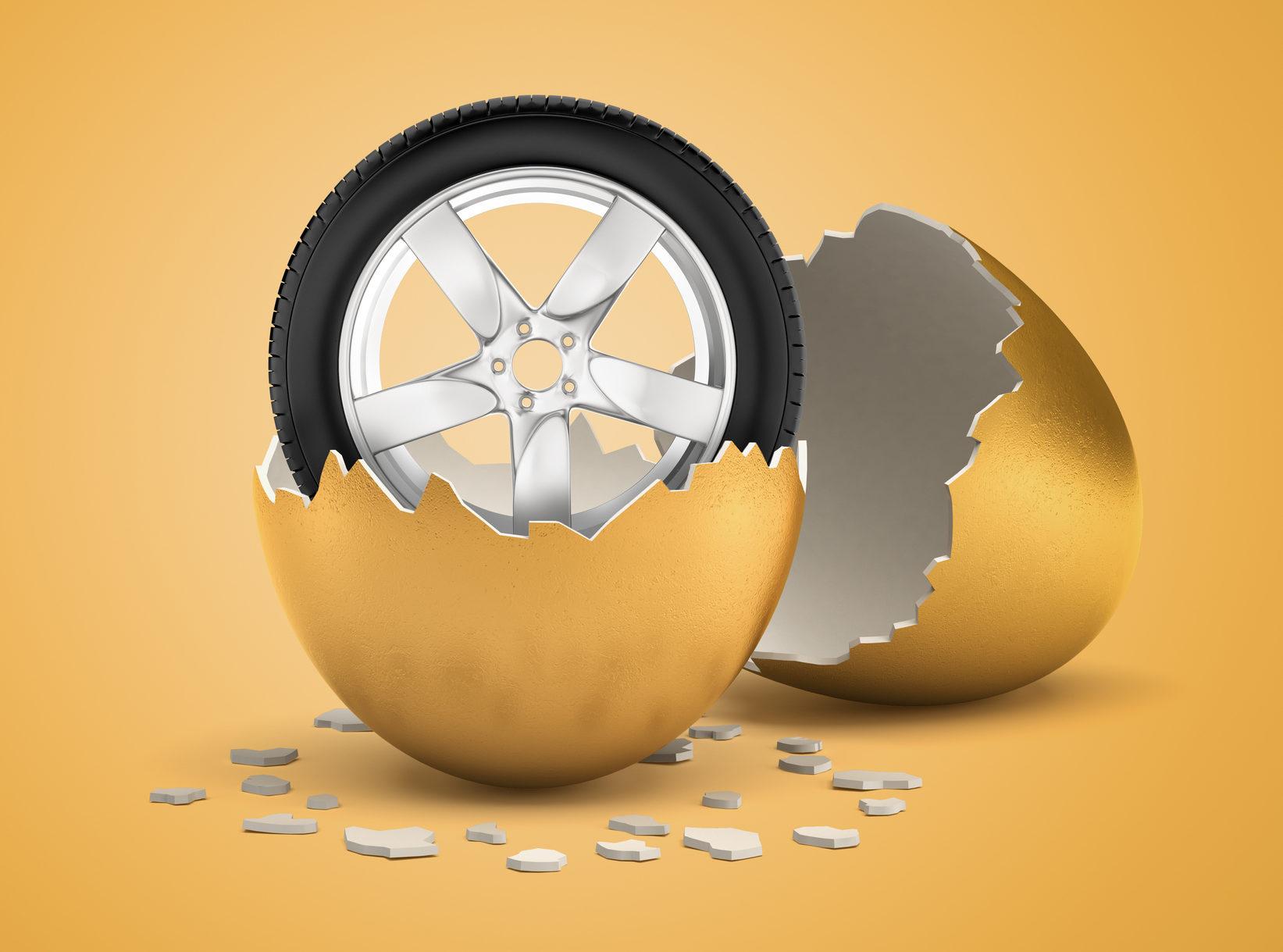 A tire is not an egg
